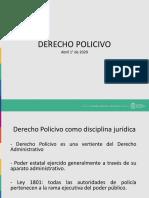 Derecho Policivo 1° de Abril