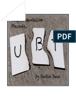 UBT By Dustin Dean.pdf