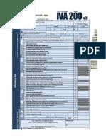 formulario 200 iva