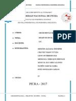 GEOMORFOLOFIA DE PIURA