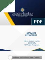 MERCADEO ESTRATEGICO - MATRIZ BOSTON