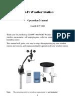 GW1002 Manual