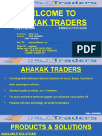 AHAKAK TRADERS - Proposal Solutions
