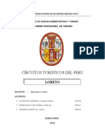 CIRCUITOS TCOS  Loreto