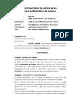 2006-236 DAÑOS Y PERJUICIOS Abandono proces