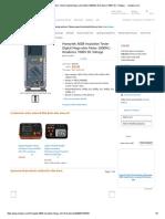 Honeytek A60B Insulation Tester Digital Mega-ohm Meter 2000MΩ Residence 1000V DC Voltage - - Amazon.pdf