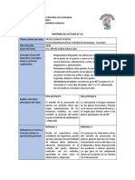 INFORME DE LECTURA NRO 02 geometria descriptiva
