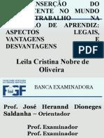 SLIDES LEILA - APRESENTAÇÃO