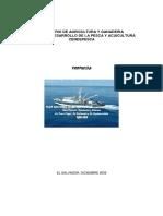 Propuesta de Plan Nacional de El Salvador  para Prevenir  Desalentar y Eliminar la Pesca Ilegal  no Declarada y no Reglamentada. (PAN-INN).