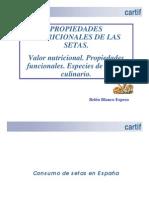 SETAS Analisis nutricional