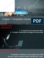 Chapter 1 Understanding Accounting for Hospitality Industry