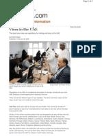 Visas in the UAE