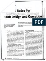 General Rules Aboveground Tanks Design