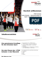 Rahmenkonzept Swiss Olympics