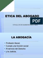 Diapositivas ETICA DEL ABOGADO