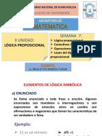 clase N°7 de matematica enfermeria proposiciones logicas