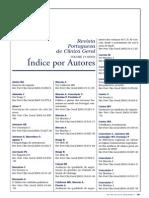 Indice por autores