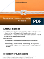 PPT-Fenomenul placebo vs nocebo în practica medicală