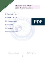 Medios de información لغة اسبانية ثالثة ثانوي