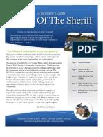 Washtenaw County Sheriff's Office Community Report