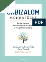 Barbara Markway PhD, Celia Amp - ÖNBIZALOM MUNKAFÜZET
