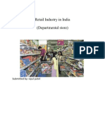 Retail Industry in India proposal