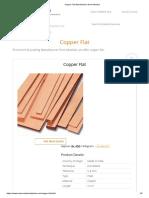 Copper Flat Manufacturer from Mumbai