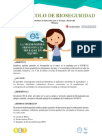 Protocolo de Bioseguridad Instituto de educación Seccional Norte de Santander
