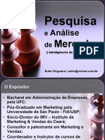 PESQUISA E ANALISE DO MERCADO