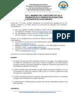 ACTA N° 1- REUNIÓN EPG- UNASAM Y COMISIÓN DE SATISFACCIÓN DEL ESTUDIANTE