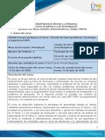 Syllabus del curso métodos determinísticos