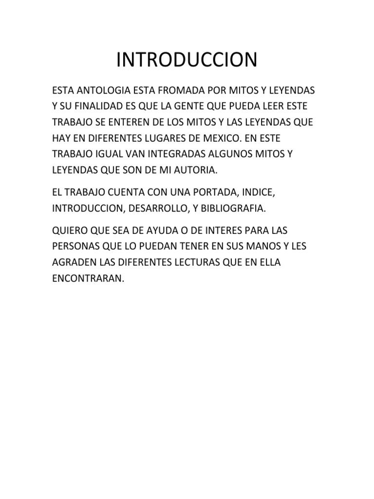 TRABAJO DE ANTOLOGIA