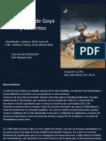 Goya y Lucientes- power point 2020