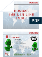 Bombas IN-Line IMBIL