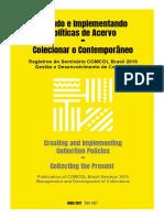 Política de acervos - Registros_do_Seminario_COMCOL_Brasil_2015_2_edicao
