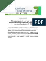2020 - Encuesta Afiliados SINPRO