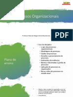 Processos Organizacionais aula 1