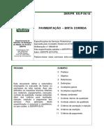 DER - PR 06 (2018) - Pavimentação - Brita Corrida