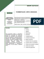 DER - PR 05 (2018) - Pavimentação - Brita Graduada