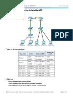 Taller 3 Redes II_Examine the ARP desarrollado