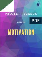 Motivation Theories - RBI Grade B