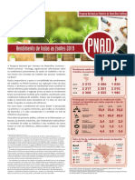 Rendimentos do Trabalho PNAD 2019