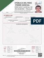 Certificado Penales Tejada Yimy