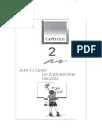 Capitulo 2 -  Dificultades Lectoescritoras. Dislexia (1).docx