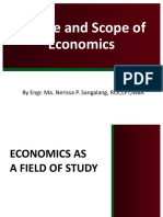 1scrib upload 2  Course Introduction Nature and Scope of Economics