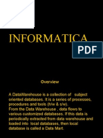 Introduction to Informatica