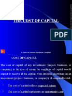 Cost of Capital revised