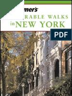 frommer's - travel guide - memorable walks in new york 2003
