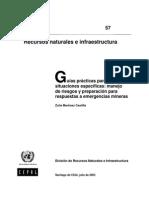 Guía práctica manejo riesgos y emergencias mineras