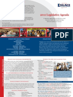 2011 ENLACE Legislative Agenda